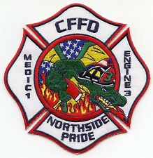 FOUNTAIN COLORADO CO Medic 1 Engine 3 Northside Pride ALLIGATOR FIRE PATCH