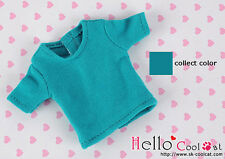 ☆╮Cool Cat╭☆135.【NS-42】Blythe Pullip T-Shirt # Teal