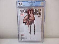 Wolverine Origins #10, 2007 Quesada Third Claw 1:100 Variant, CGC 9.2, 1st Daken