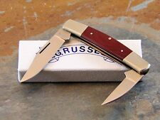 A. G. RUSSELL KNIVES,  RUSSELL RED CORAL RUCARTA JACK POCKET KNIFE, AUS8A