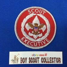 Boy Scout Adult Position Patch Scout Executive