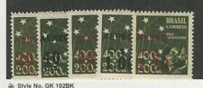 Brazil, Postage Stamp, #C55-C59 Mint Lh, 1944, Jfz