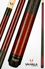 Valhalla by Viking 2 Pc. Pool Cue w. case- Mahogany w. wrap - Lifetime Warranty