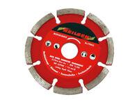 "CT0833 115mm 4.5"" Segmented Diamond Cutting Mortar Rake Disc Builders Tool 6.4mm"