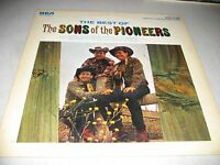 THE BEST OF THE SONS OF THE PIONEERS LP VG+ RCA Victor LSP3476 1966