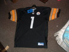 PITTSBURGH STEELERS #1 FAN AUTHENTIC HOME REEBOK FOOTBALL JERSEY sz 52 NWT