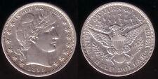 50 centimes de dollars a aidé 1895 Barber, conservation