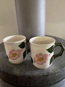 Villeroy Boch 2 Kaffeebecher Wildrose, Geschirr, große Kaffeetasse, Kaffeepott