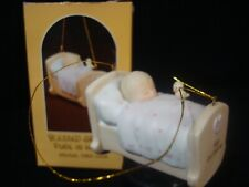 New ListingPrecious Moments Ornament-Rare-1983 Baby's 1'St Christmas