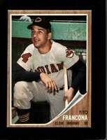 1962 TOPPS #97 TITO FRANCONA EXMT INDIANS *SBA2228
