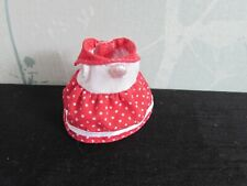 SYLVANIAN FAMILIES - CLOTHES SPARES - CHILD'S RED & WHITE SPOTTED DRESS- DG1208>