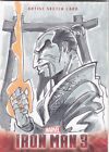 2013 IRON MAN 3 THE MANDARIN ARTIST SKETCH CARD 1/1 HAND DRAWN ONE OF ONE
