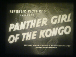 16MM SOUND-PANTHER GIRL OF THE KONGO-1955-SERIAL CHAPTER 8-PHYLLIS COATES