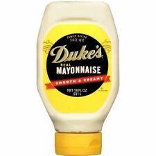Duke's Real Mayonnaise Smooth & Creamy 18 oz Bottle