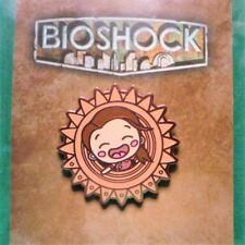 BioShock Little Sister Pin Official Enamel w/ Copper Finish Pin 2K Big Daddy