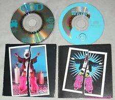 "Lot THE RESIDENTS Double Shot & Holy Kiss of Flesh 3"" USA mini CDs G3P EP cd3 EX"