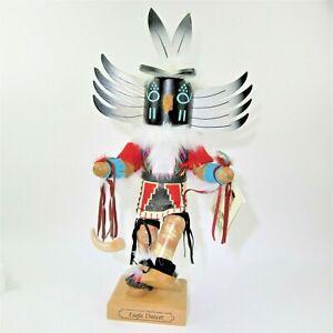 "vtg 1997 ULBRICHT Kachina ""Eagle Dancer"" 20"" NUTCRACKER Germany ltd ed #294/3000"