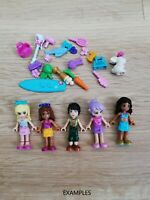 LEGO - friends X5 qty minifigure & X20 Accessories pack! + x1 Free Pet gift!