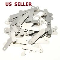 100pcs Solder Tab for Sub C Rechargeable Battery Cell 2.5x0.5cm