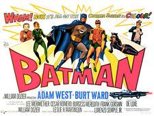 "Batman Movie Poster Replica 11x14"" Photo Print"
