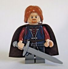 Lego BOROMIR Minifigure with Sword Lord of the Rings -9473 Moria
