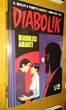 DIABOLIK ORIGINALE ANNO 42° - ANNO XLII - #  1 - DIABOLICI AMANTI