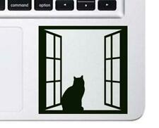 Cat in window Decal, Die Cut Vinyl, Car Decal Sticker, For Car, Window, Bumper S