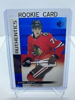 2019/20 UPPER DECK SP ROOKIE AUTHENTICS BLUE YOU PICK FROM LIST DACH, HAGUE...