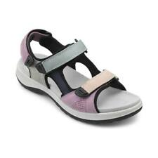 Hotter Women's Travel Active Sandal Leather/Nubuck Touch Fastening Adult Sandals