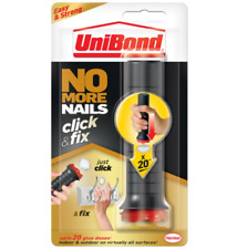 Unibond No More Nails Click and Fix Easy To Use Strong No Mess Glue Adhesive