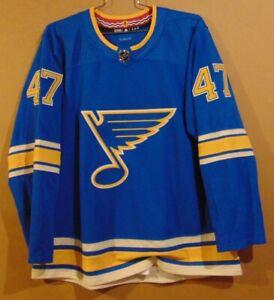 ST. LOUIS BLUES #47 SULLIVAN BLUE NHL JERSEY