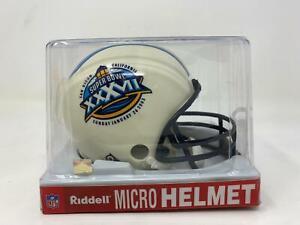 Riddell Micro Mini Helmet, Super Bowl 37 (XXXVII), January 26 2003 San Diego CA