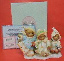 Cherished Teddies Mistie Danielle & Brittany Figurine 4010080-Laplander Series