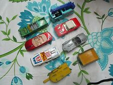 Diecast Car Lot Hot Wheels Matchbox Cars Used 1975 - 2000s Trailors