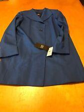 $930 cinzia rocca royal blu blazer size 6 UC1