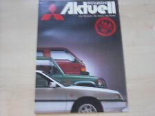 53271) Mitsubishi Colt Lancer Galant - aktuell 09/1987