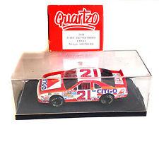 Quartzo SCALA 1/43 FORD THUNDERBIRD Morgan pastore Modello Diecast Auto NASCAR