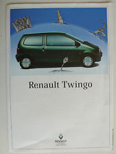 Prospectus renault twingo/Easy, 9.1995, 4 pages