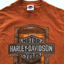 Motor Harley Davidson Fresno California Shirt Large Mathews Oil Can Art
