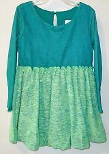 Brand New C.W.Dkids Green Bubble Hem Dress ~  Sz 6X ~ St. Patrick's Day