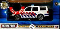 Teamsterz  City Kids Emergency Response Police Car Toys Light+Sound Toy