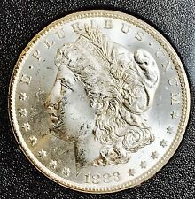 1883-CC GSA Morgan Silver Dollar. Collector Coin For Your Collection With COA.
