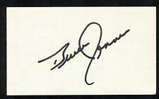 BRUCE JENNER OLYMPIC GOLD MEDAL DECATHLON CHAMPION Signed 3x5 Index Card COA