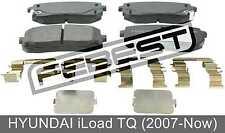 Pad Kit, Disc Brake, Rear - Kit For Hyundai Iload Tq (2007-Now)