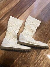 Woollen knit ugg boots