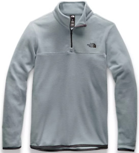 The North Face Women's TKA Glacier 1/4 Zip - Mid Grey/Mid Grey - A48KKCTE