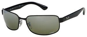 Ray-Ban Sunglasses RB 3566CH 002/5J 65 Grey Mirror Silver Polarized Chromance