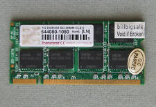 Transcend 1GB X1 SODIMM 200PIN DDR333 PC2700 SDRAM 1G memory MY RAM 05T