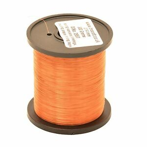 0.14mm ENAMELLED COPPER WIRE - COIL WIRE, HIGH TEMPERATURE MAGNET WIRE - 125g