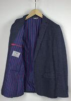 Manuel Ritz Homme ( Ue ) 50 Ou ~ M Tricot Coque Deux Boutons Blazer 29929-GS